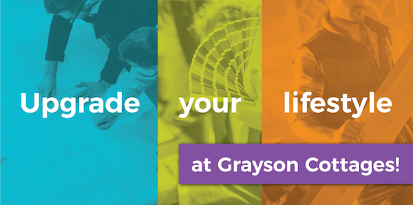 Upgrade Your Lifestyle at Grayson Cottages
